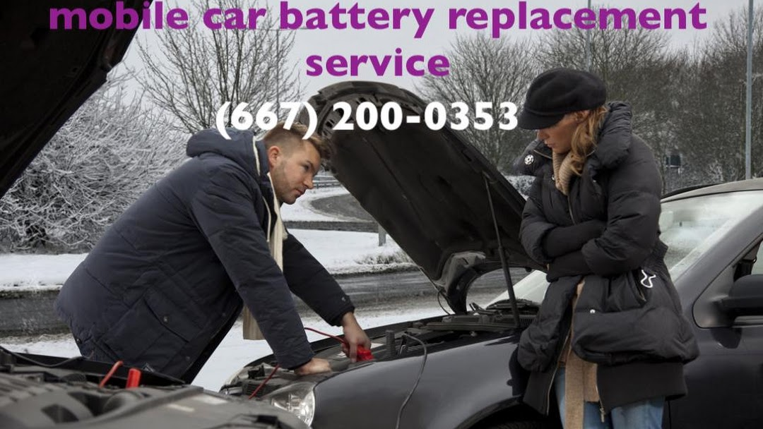 Mobile Car Battery Replacement Service Car Battery Delivery And