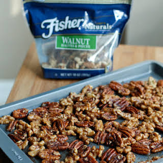 Gingerbread Spiced Nuts.