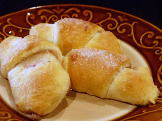 Raspberry Honey-walnut Crescent Rolls Recipe
