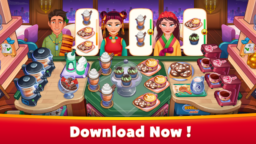 Asian Cooking Star: Crazy Restaurant Cooking Games apkpoly screenshots 1