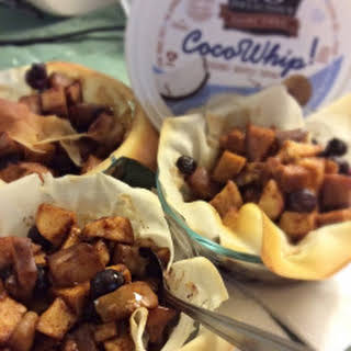 Nana's Vegan Fruity Tart – 4 Weight Watchers Points Plus per serving.