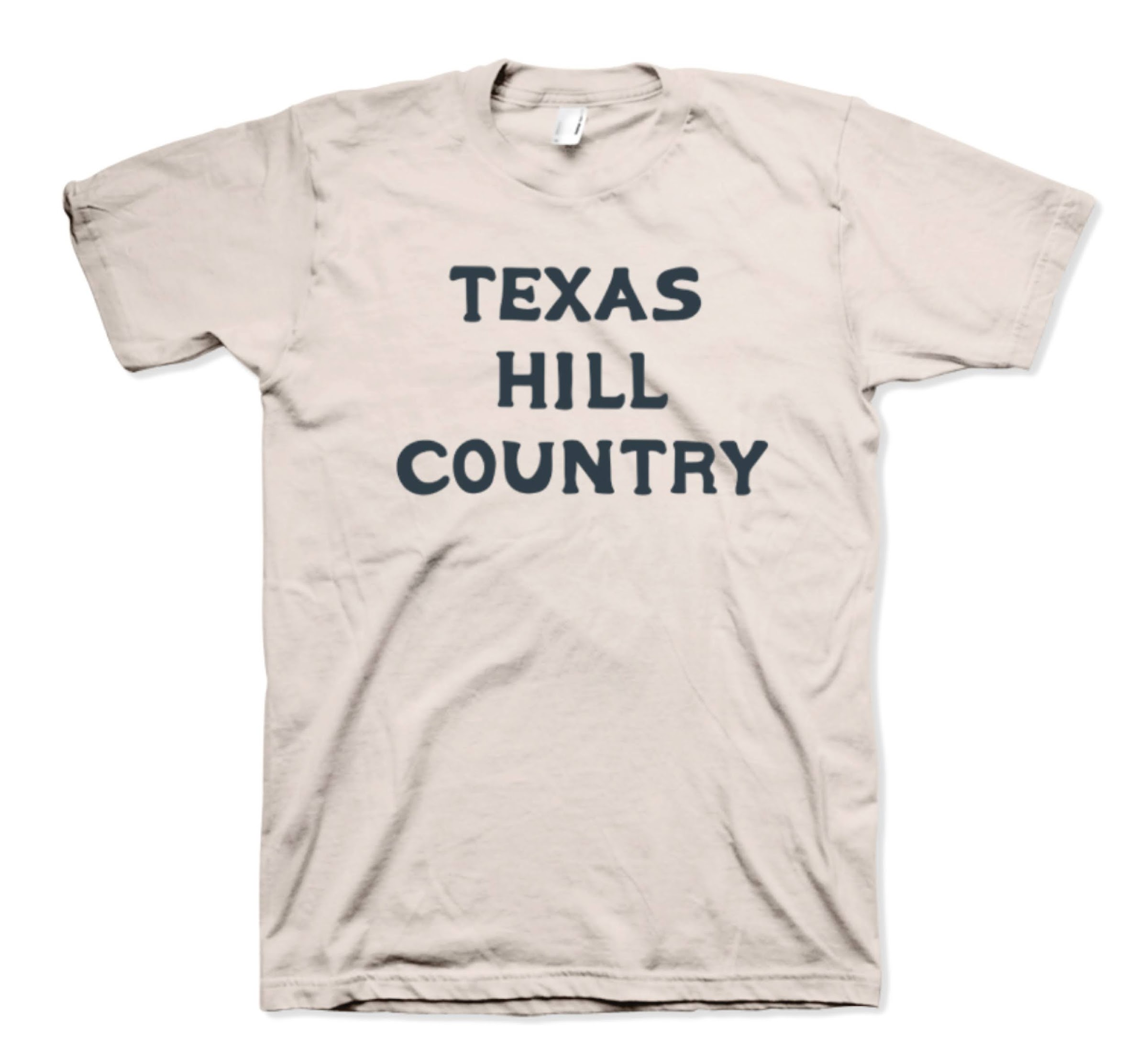 hill country t shirt white