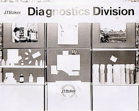 Photo: J.T.Baker Diagnostics Division display board
