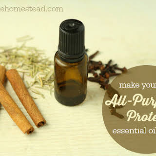 DIY All-Purpose Protective Essential Oil Blend.