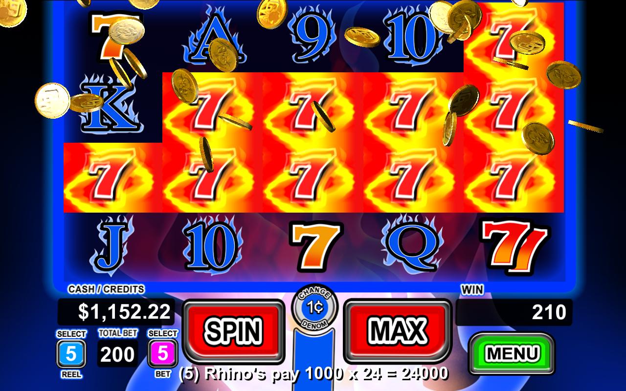 Slot fire