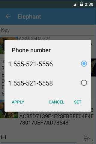 SMS Encryption (Free) screenshot 3