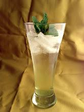 Photo: Lemongrass Mojito:  White rum, lemongrass simple syrup, lime juice, 'Mojito' mint, club soda.