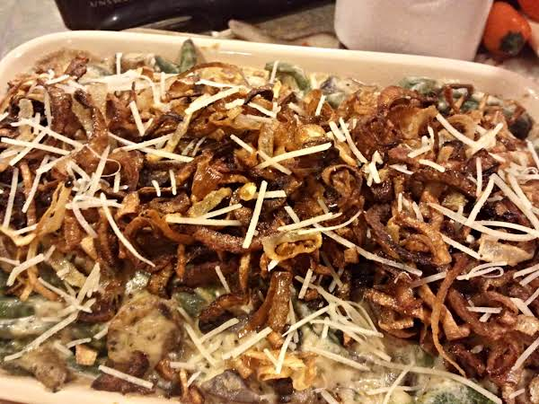 Green Bean Casserole With Crispy Shallots Recipe