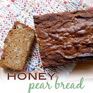 Honey Pear Bread.