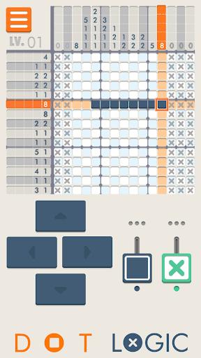 Dot Logic - Illustlogic puzzle