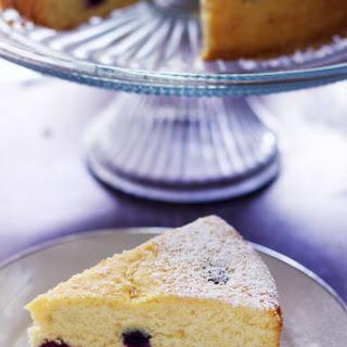 Lemon Berry Cornmeal Cake