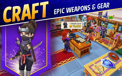 Download Shop Titans: Epic Idle Crafter, Build & Trade RPG 3.3.1 2