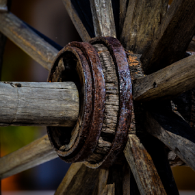 Wheel by Garces & Garces - Artistic Objects Still Life ( wheel, artistic, artistic object, antique )