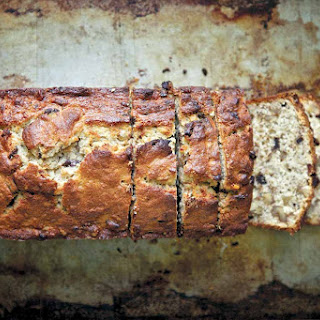 Chocolate Bourbon-Spiked Banana Bread.
