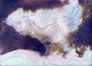 Photo: La pensée est un liquide Photogramme 2015 21x30cm 2015 Tirage pigmentaire sur Dibond
