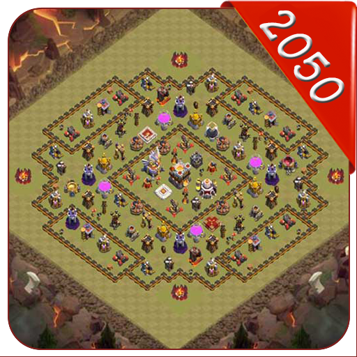 Maps of Clash of Clans 2050