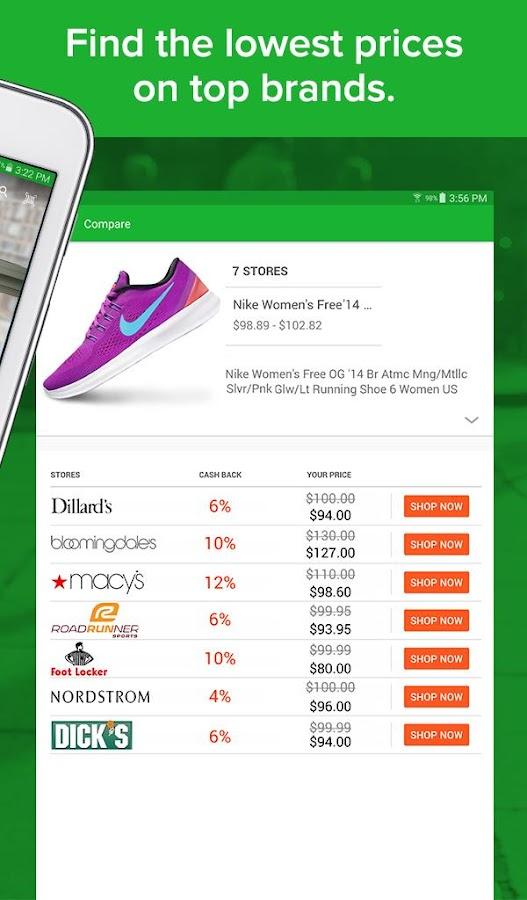 ebates coupons cash rewards android apps on google play. Black Bedroom Furniture Sets. Home Design Ideas