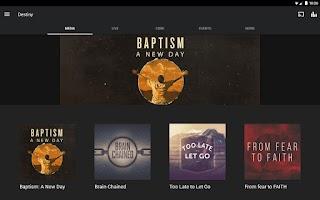 Screenshot of Destiny Church