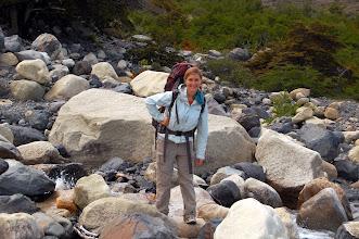 Photo: trekking in Patagonia