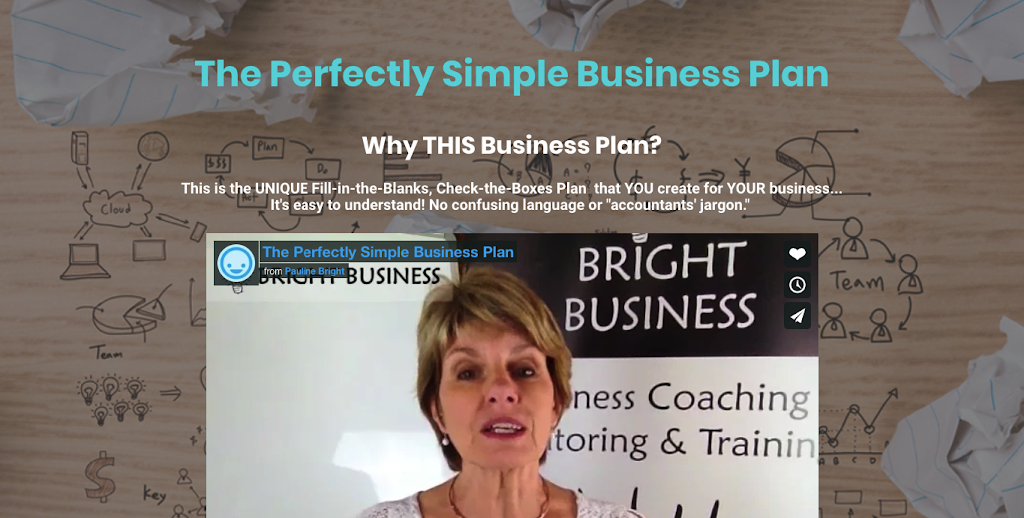 The Perfectly Simple Business Plan
