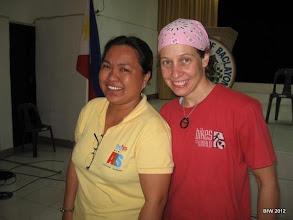 Photo: Helen (ALS) and Yvette (BfW)