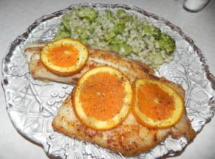 TILAPIA LOVE: Another favorite fish of ours. http://www.justapinch.com/recipes/main-course/fish/spicy-orange-tilapia.html?p=1 --this one is steamed cooked in...