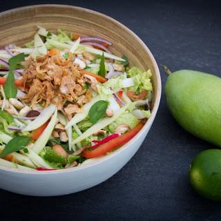 Asian Mango Salad.