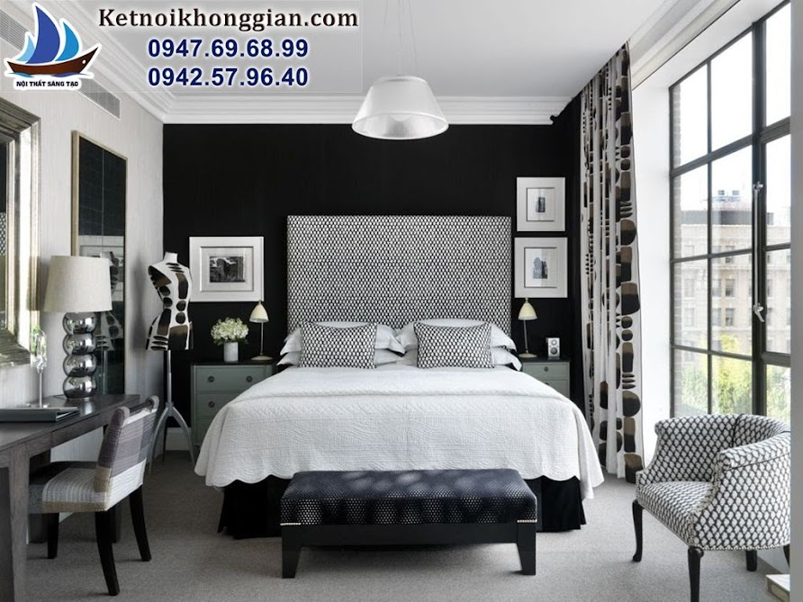 thiết kế và bài trí phòng ngủ