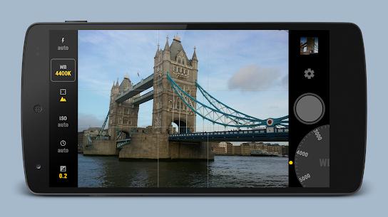 Manual Camera 3.7.2 Mod APK Updated 2