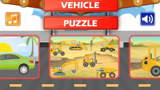 Vehicle Puzzle - náhled