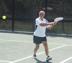 Photo: Tennis social event Gary McElwee