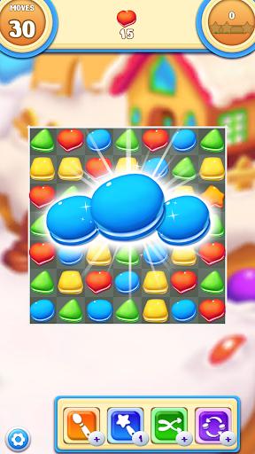Cookie Macaron Pop : Sweet Match 3 Puzzle filehippodl screenshot 1