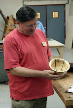 Photo: Richard Webster, maple and walnut segmented bowl