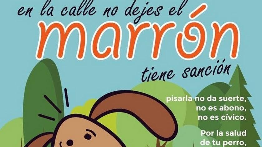 Detalle del cartel de la campaña.