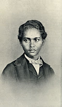"""Photo: Ali, Wallace's favorite servant in the Malay Archipelago. Taken by """"a friend"""" of Wallace's in Singapore in c. 1862. Original print in NHM Wallace Archive (WP6/8/19). First published in Wallace's My Life (1905) and scanned from this publication. Copyright of scan: A. R. Wallace Memorial Fund & G. W. Beccaloni."""