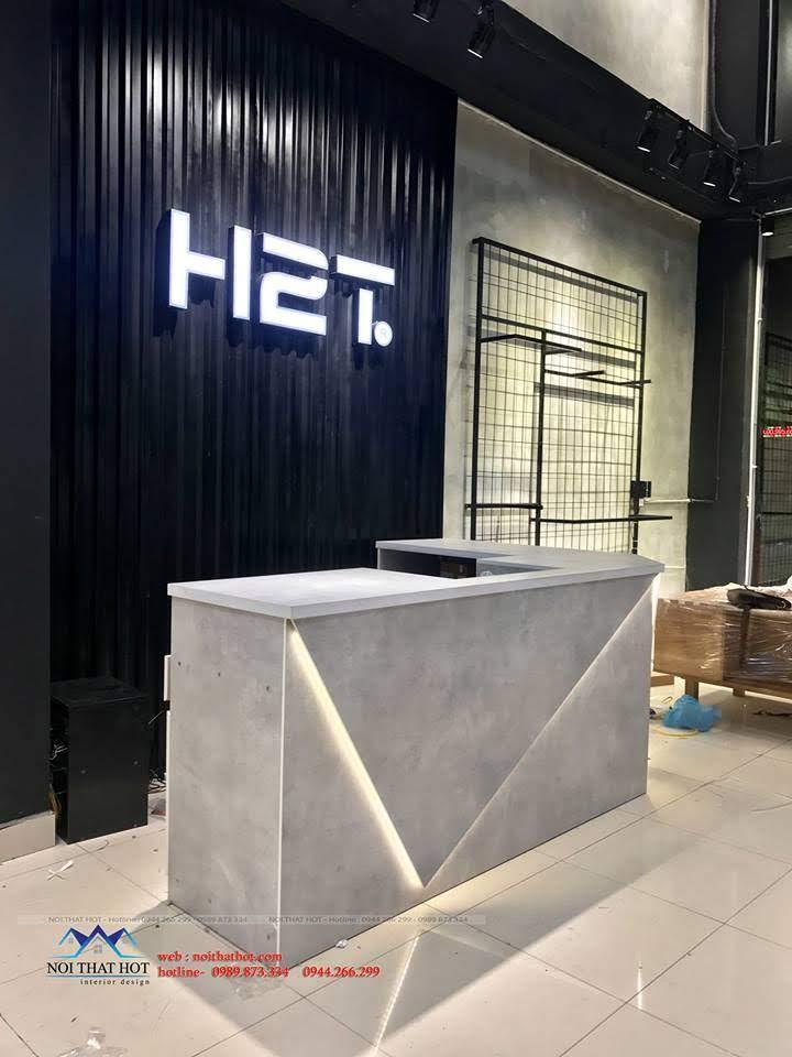 thiết kế shop thời trang nam H2T 18