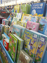 Photo: Easter books and gifts make a pretty display.