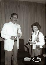 Photo: Jim Brooks and Glenda Beaman