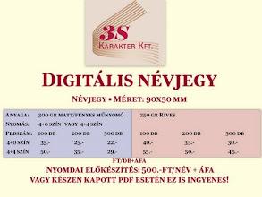 Photo: Digitális névjegy készítés