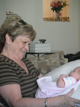 Photo: Auntie Diane meets Audrey