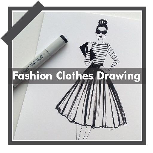 Drawing Fashion Clothes Design Ideas Google Play Á®ã'¢ãƒ—リ