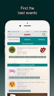 Appic - Events & Festival info- screenshot thumbnail