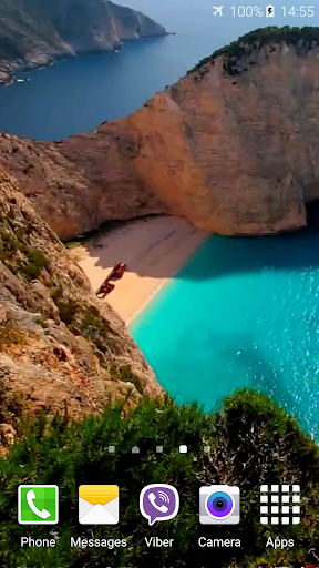 Navagio Beach Live Wallpaper