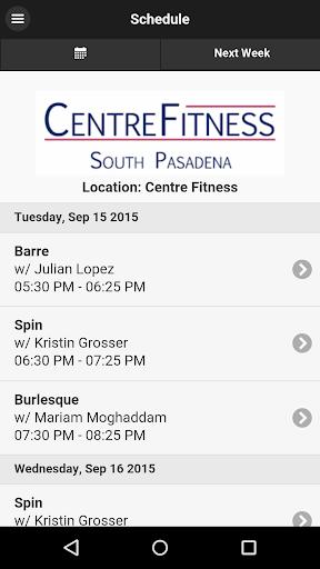 Centre Fitness South Pasadena