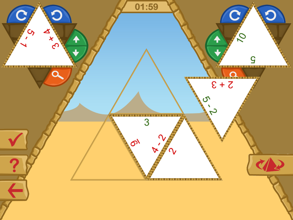 LÜK Pyramide- screenshot