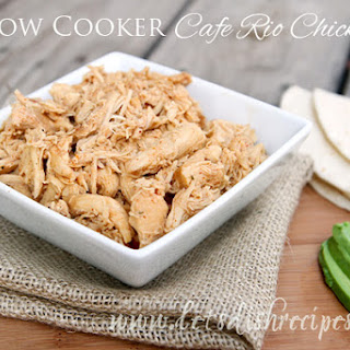 Cafe Rio Chicken (Slow Cooker)