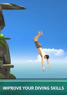 flip diveing