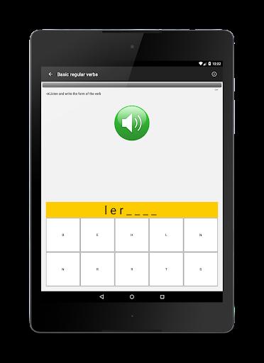 Verben - Trainer screenshot 10