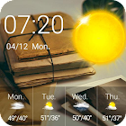 Weather Clock Widget Libro icon