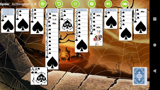 Spider Solitaire Free 2.4 screenshots 1